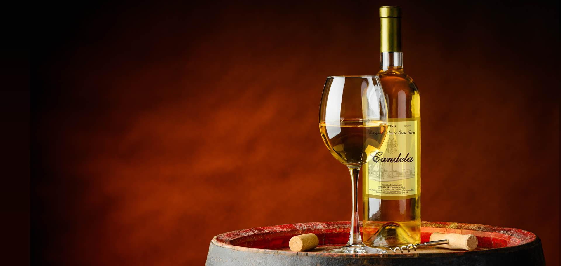 Vino Borgoña Blanco Semiseco